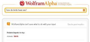 Wolfram Alpha birds 0